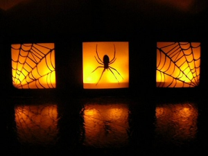 Halloween Table Luminaries