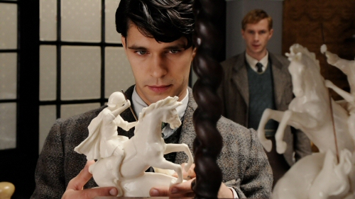 Ben Whishaw and James DArcy in Cloud Atlas