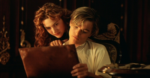Kate Winslet and Leonardo DiCaprio from Titanic