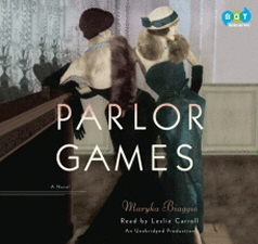 Parlor Games Audiobook, by Maryka Biaggio, read by Leslie Carroll