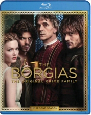 Borgias Second Season Blu-Ray