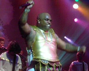 Cee-lo Green from Gnarls Barkley in Atlanta