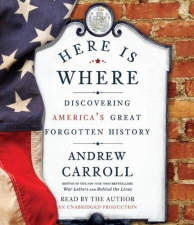 Here is Where by Andrew Carroll Audiobook