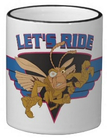 Hopper from Bugs Life: Lets Ride Coffee Mug
