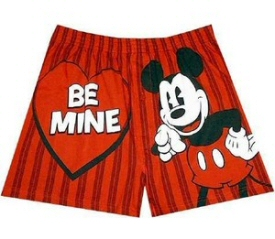 Mickey Mouse Be Mine Boxers
