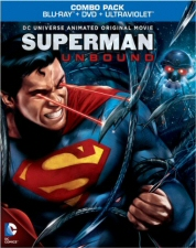 Superman Unbound Blu-Ray