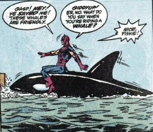 Hawkeye on a Whale