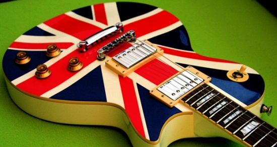 British guitar