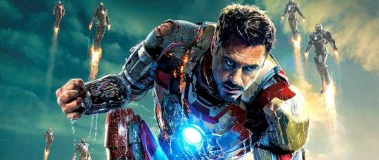 Iron Man 3 Blu-Ray