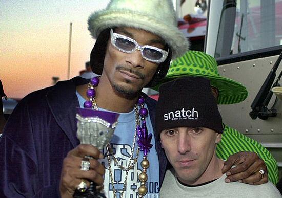 Snoop Dogg and Maynard from Tool, 2001