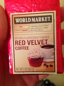 World Market Red Velvet Coffee