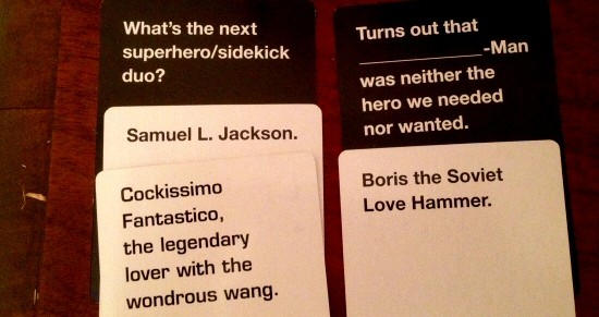 Comic Book Cards Against Humanity