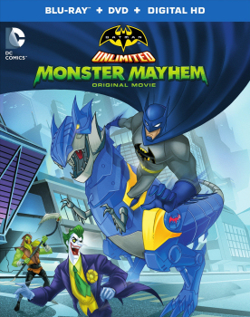 Batman Unlimited: Monster Mayhem Blu-ray