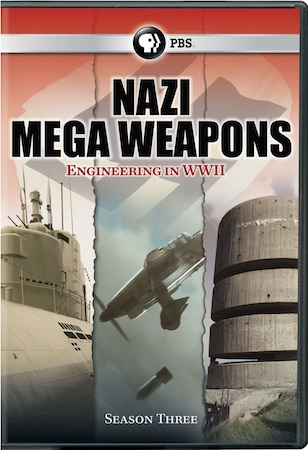 Nazi Mega Weapons Season 3 DVD