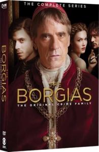 Borgias Complete Series DVD