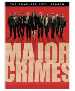 Major Crimes Complete Fifth Season DVD