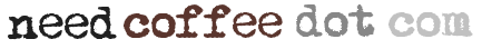Needcoffee.com Retina Logo