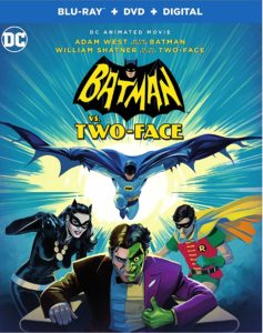 Batman vs Two Face Blu-ray