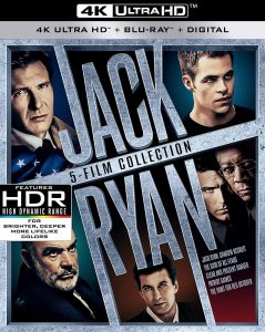 Jack Ryan 5-film collection